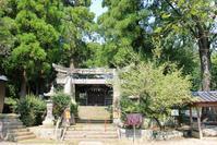 熊本植木・玉東ぶらり~その7(轟「熊野座神社」)。 - 青い海と空を追いかけて。