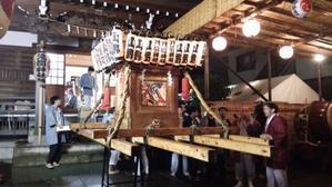 山野 浅間神社 秋祭り 2016 9/24 - 北ノ台フットサルクラブ