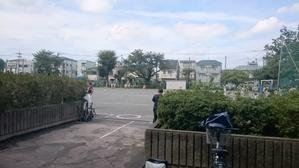 市内秋季大会2016開会式&第一回戦 - 学童野球と畑とたまに自転車
