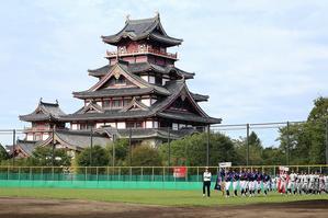第1回日本少年野球マツダボール旗争奪3年生大会開会式 - 福知山ボーイズクラブ