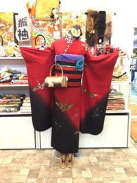 個性的!折鶴柄の振袖☆ - Tokyo135° sannomiya