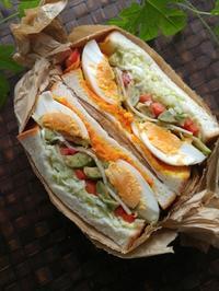 萌え断サンドイッチ - 料理研究家ブログ行長万里  日本全国 美味しい話