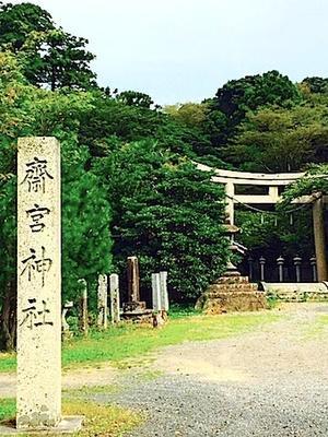 六甲山と瀬織津姫 55 竹野神社へ - 追跡アマミキヨ