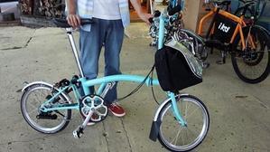 納車BROMPTON - 自転車は未来の乗り物