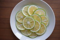 かぼす塩 - 小皿ひとさら