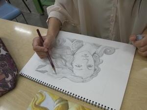描きたい。 - 天使のまなざし絵画教室