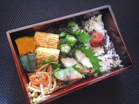 9/28 塩サバ弁当 - ひとりぼっちランチ