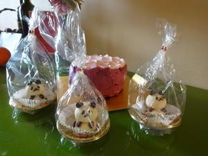かわいいパンダのオーダーケーキを作りました - 自由が丘でフレンチおうちごはん!サロン・ド・キュイジーヌエッセイエ・ヴ