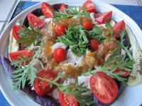 野菜たっぷりの夕食二種 〜熱波に覆われたカリフォルニア〜 - やせっぽちソプラノのキッチン2