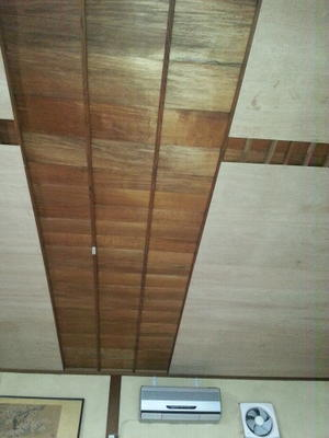 天井貼り。 - 家のメンテナンス