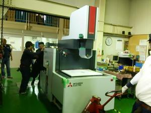 今月は機械の入れ替えが - 東大阪のダイカスト工場の日々。by 共栄ダイカスト㈱