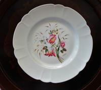 リモージュ手描き花柄プレート - スペイン・バルセロナ・アンティーク gyu's shop