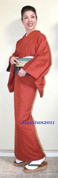 今日の着物コーディネート♪(2016.9.30)~紬着物&紬帯編~ - 着物、ときどきチロ美&チャ美。。。リサイクル着物ハタノシイナ♪