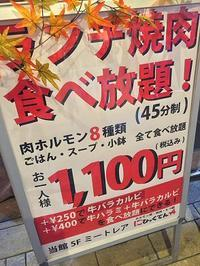 八王子南大沢ミートレア:「にひゃくてん」の焼き肉食べ放題久々♪ - CHOKOBALLCAFE