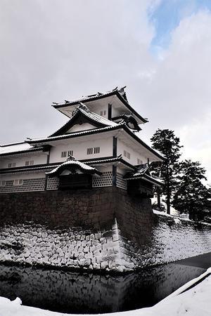 金沢雪景色・城跡と兼六園 - ちょっとそこまで