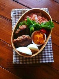 10.3 月曜鮭弁の日のハンバーグ弁当 - YUKA'sレシピ♪