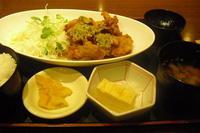 北海道 『油淋鶏定食』 - My favorite things