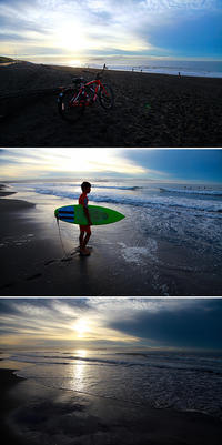 2016/10/04(TUE) 雨上がりの海辺では..........。 - SURF RESEARCH
