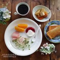 肉じゃがで朝ごはん♪ - A・S・A・G・O・H・A・N