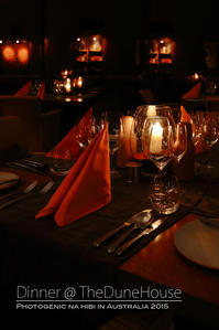 Longitude131°☆ディナー@TheDuneHouse~ウルル&カタ・ジュタの旅16 - フォトジェニックな日々