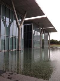 1000本ノック建築を見る→安藤忠雄 Modern Art Museum of Fort Worth - ひとりごと
