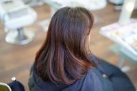 ヘナのナチュラル(オレンジ)のみで白髪を染め続けて1年経過しました。 - 浜松市浜北区の美容室 SKYSCAPE(スカイスケープ) ブログ