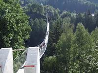 新しくできた吊り橋を渡ってみる - ヘルヴェティア備忘録―Suisse遊牧記