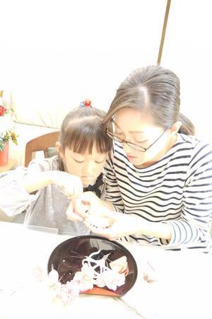 体験レッスン・・・・二種類 - 盛岡市フラワースクール&ショップ♡ブーケの北の花籠