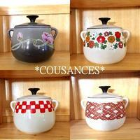 ★Vintage!Cousances 「Bean/Fondue Pots」★ - Don't Worry! Be Happy!
