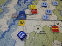 YSGA「東部戦線」連続例会2016の様子その5(GMT)The U.S. Civil Warキャンペーン 第1班そのⅡ - YSGA(横浜シミュレーションゲーム協会) 例会報告