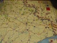 YSGA「東部戦線」連続例会2016の様子その10(GMT/CMJ60)Ukraine '43 初版 一日目の対戦 - YSGA(横浜シミュレーションゲーム協会) 例会報告