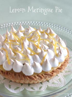 爽やか??!レモンメレンゲパイ! - Tortelicious Cake Salon