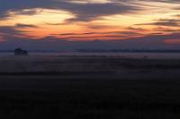 朝焼け朝霧筑波山・・・渡良瀬遊水池から - 『私のデジタル写真眼』