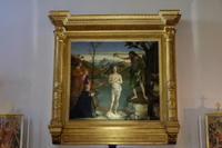 マルタ騎士団の聖ヨハネ教会、「キリストを洗礼するヨハネ」 - ヴェネツィア ときどき イタリア・2