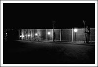 黄葉る月 寫誌 ⑪ work at night:フェンス - le fotografie di digit@l