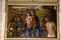 サン・フランチェスコ・デッラ・ヴィーニャ教会の「聖母子」はひっそりと・・・ - ヴェネツィア ときどき イタリア・2