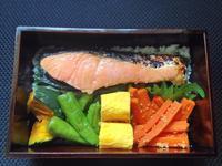 10/18 海苔鮭弁当 - ひとりぼっちランチ