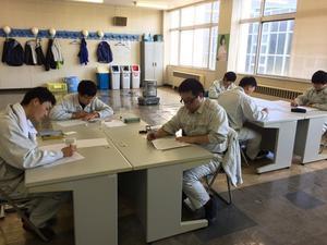 ラストスパート - 青森技専校の訓練日誌
