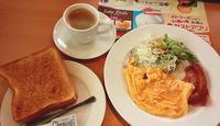 ガストでモーニング - お昼ごはんはパフェ (お昼ごはんはモーニング?)