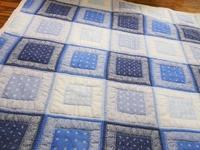 ブルーのキルト - eri-quilt日記2