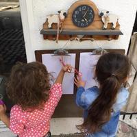 お絵描きツールのバラエティーの勧め - ロサンゼルスの日本語幼児教室 あおぞら