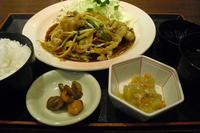 北海道 『生姜焼き定食』 - My favorite things