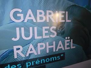 フランスで人気のベベ・赤ちゃんの名前は・・・女の子ではルイーズ・ジャ―ド・エマ、男の子ではガブリエル・ジュール・ラファエル・・・ - 波多野均つれづれアート・パート2