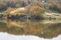 水面に映える - 松之山の四季2
