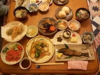 高千穂の民宿~ 『暖心』、『春芽』の夕食~ - suteki   ステキ 素敵な・・・
