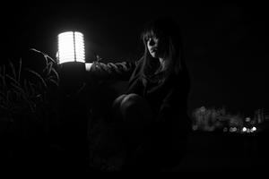街の灯り - モノクロ写真集
