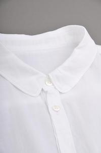 ゴーシュ 90/1 Organic Twill Shirt (White) - un.regard.moderne