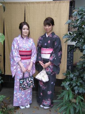今回はお着物でお出かけです。 - 京都嵐山 着物レンタル&着付け「遊月」