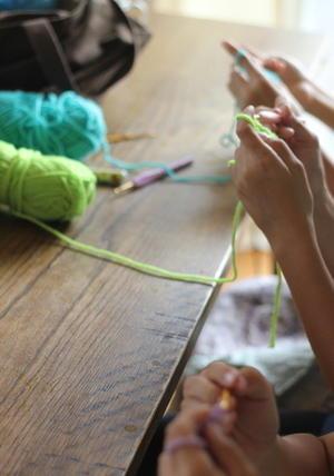 編み物クラブ - sakamichi