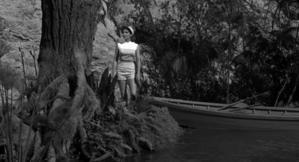 ジュリー・アダムス(Julie Adams)「大アマゾンの半魚人 」(1954)其の弐 - 夜ごとの美女